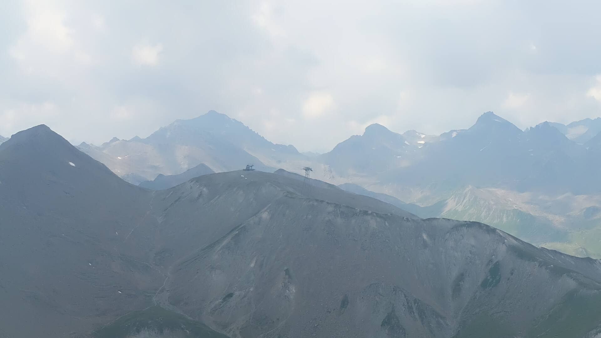 Samnaun - Ischgl webcam - Piz Val Grodna 2.812 m