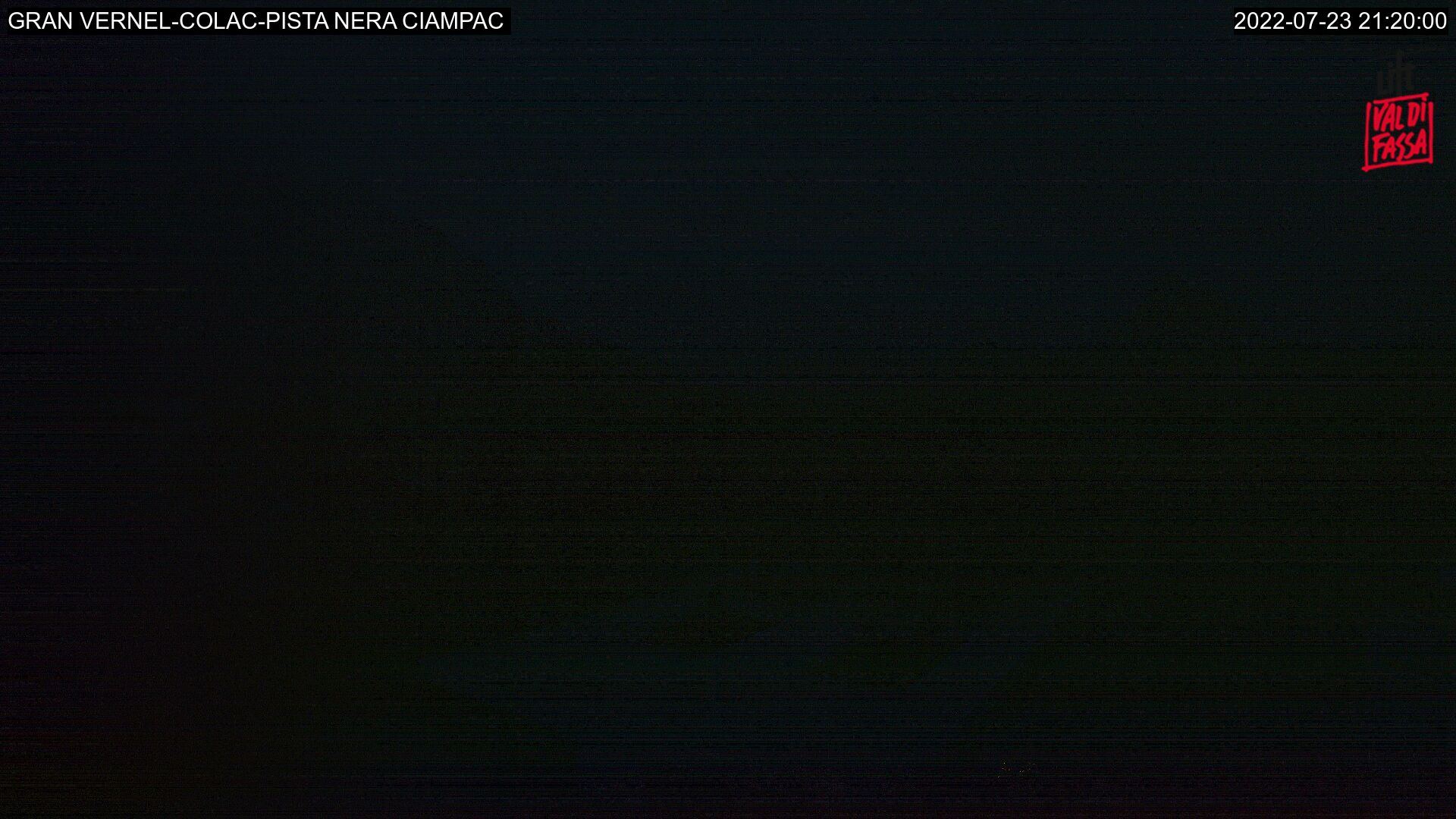 Webcam Alba di Canazei - Ciampac - Altitude: 2,376 metresArea: Col dei Rossi Panoramic viewpoint: static webcam. View from the top station of the