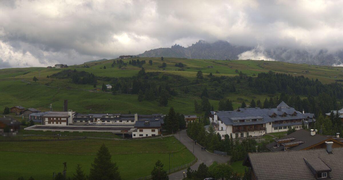 Alpe di Siusi - Stazione a monte - Panorama 360°