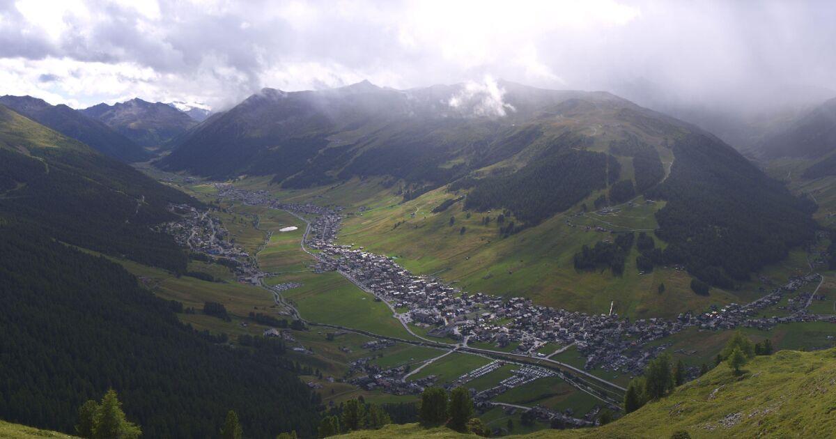 Livigno Monte Carpene Panorama