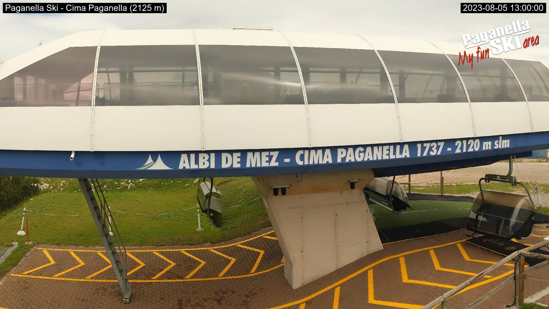 Webcam Cima Paganella