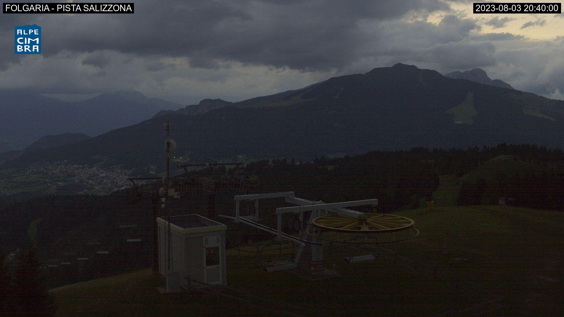 Webcam Seggiovia Sommo Alto - Folgaria, Alpe Cimbra