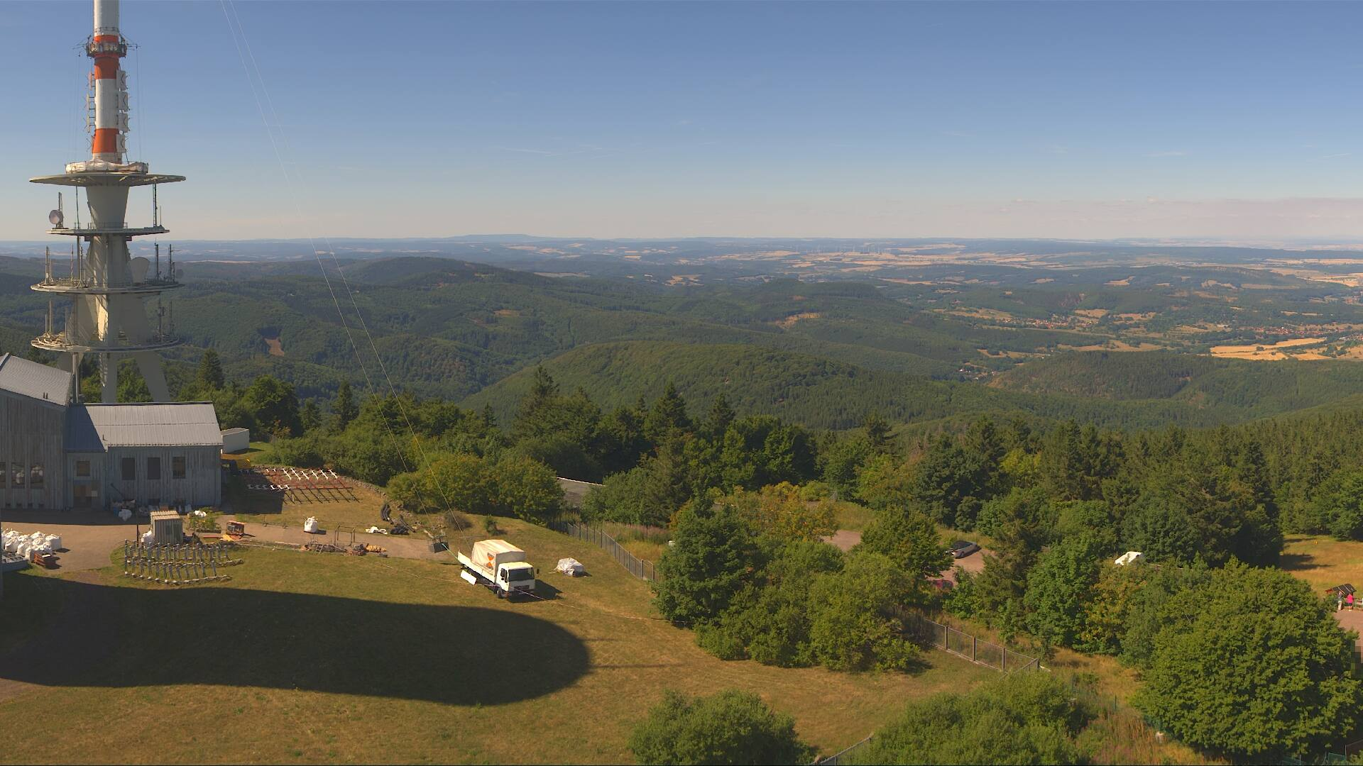 Webcam Panoramabild Inselsberg