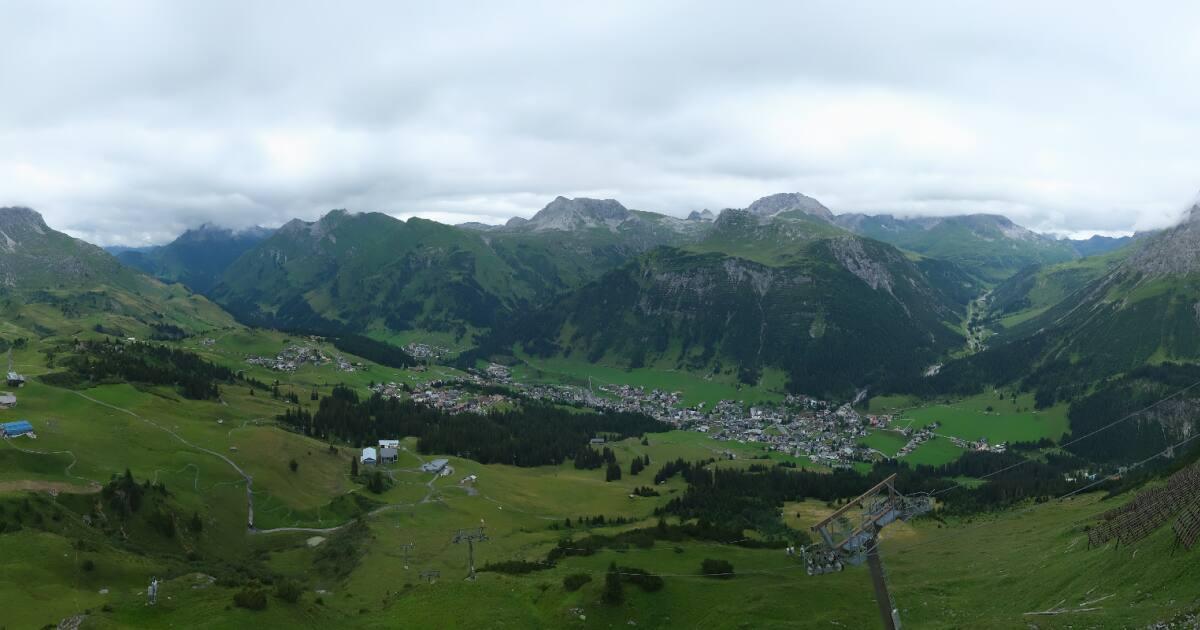 Webcam Lech - Kriegerhorn - 2.070 m